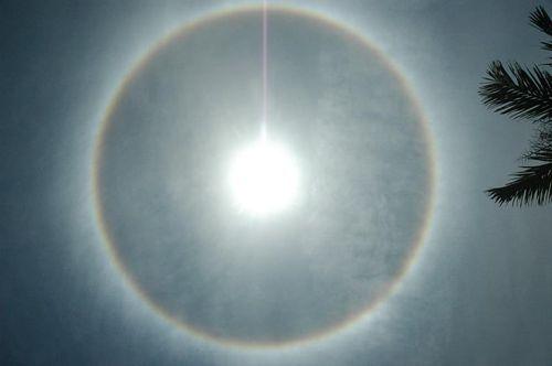 Rainbow Halo Around the Sun 5