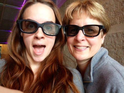 Alison me 3D glasses 2