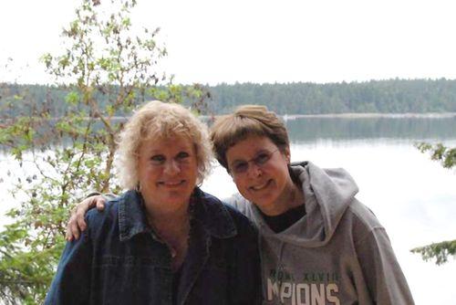 Tonya and Margaret at Harstine
