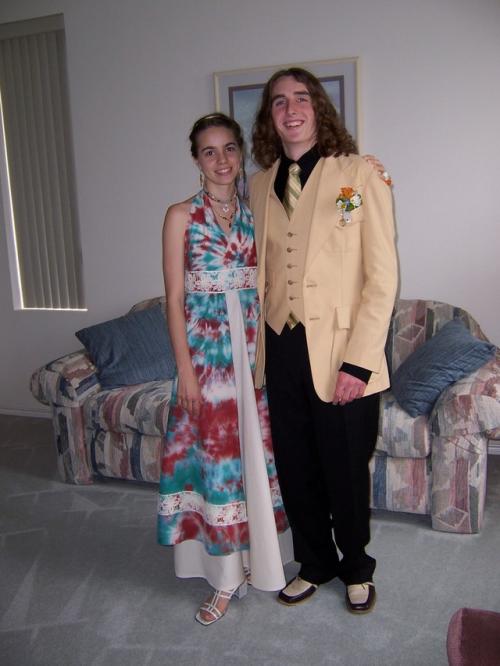 Ashley and Curtis Senior Ball